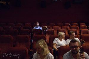 dog at the cinema London