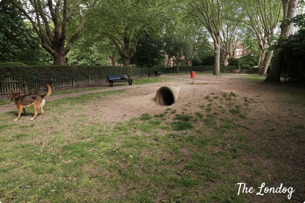 Paddington Recreation Ground 1st dog area | The Londog.com copyright