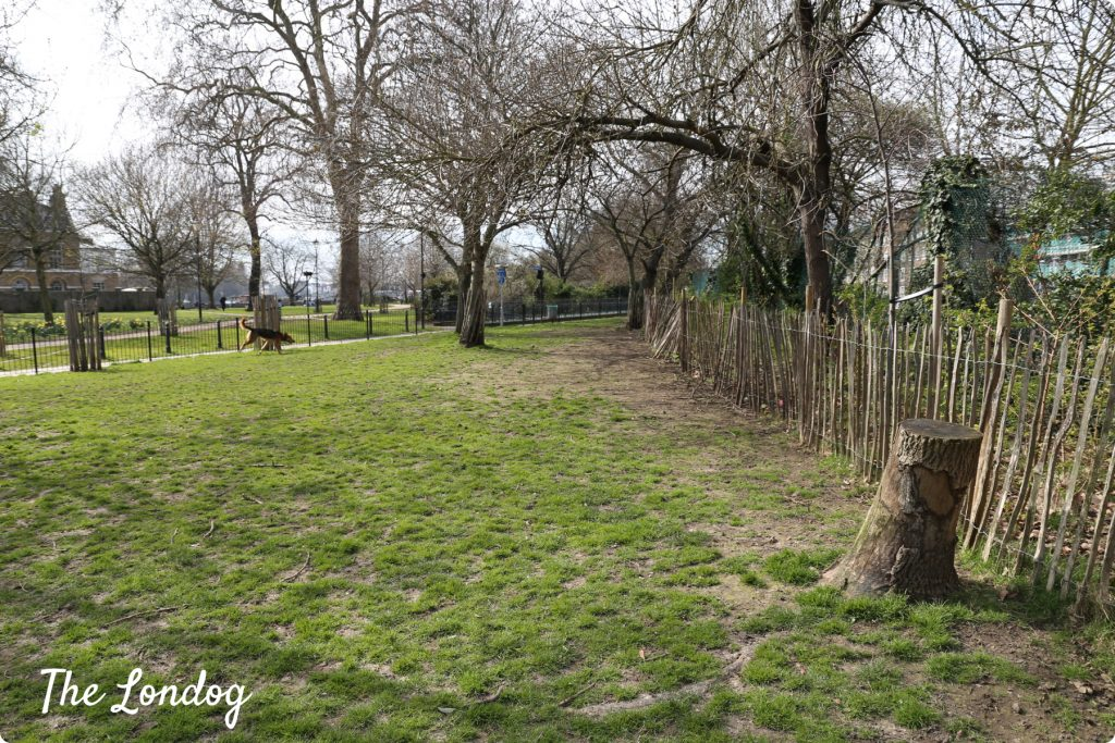 Furnivall Gardens dog area | The Londog