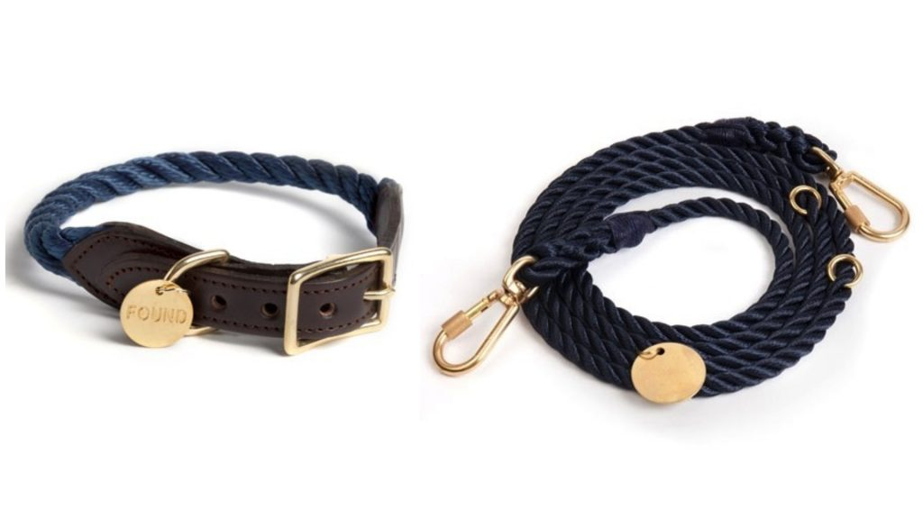 Rope lead and collar