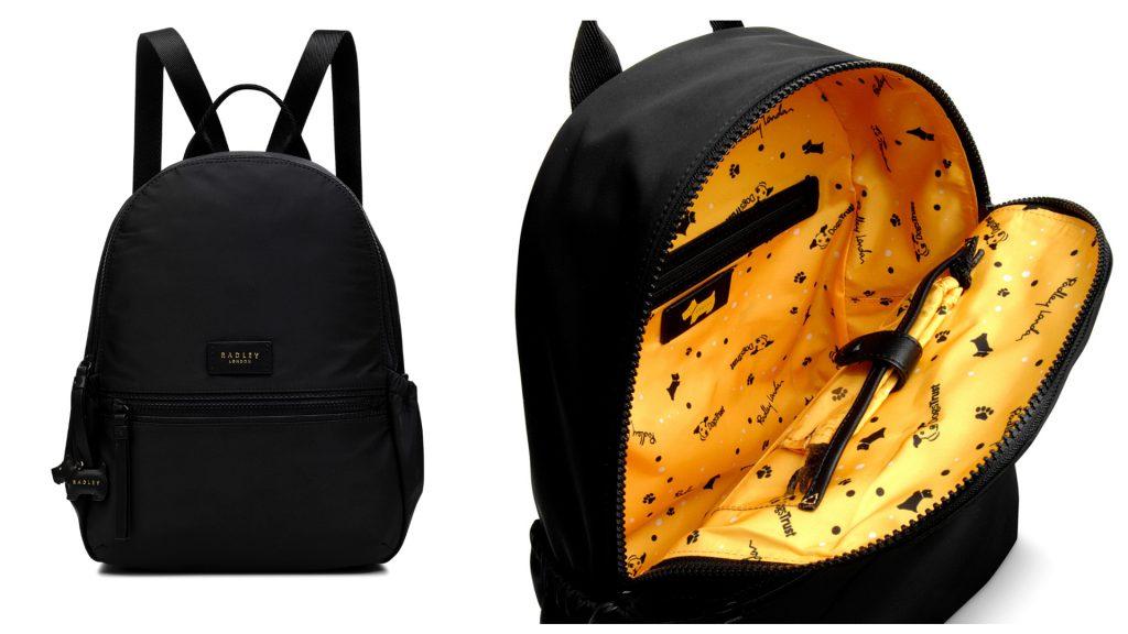 Radley London x Dogs Trust backpack