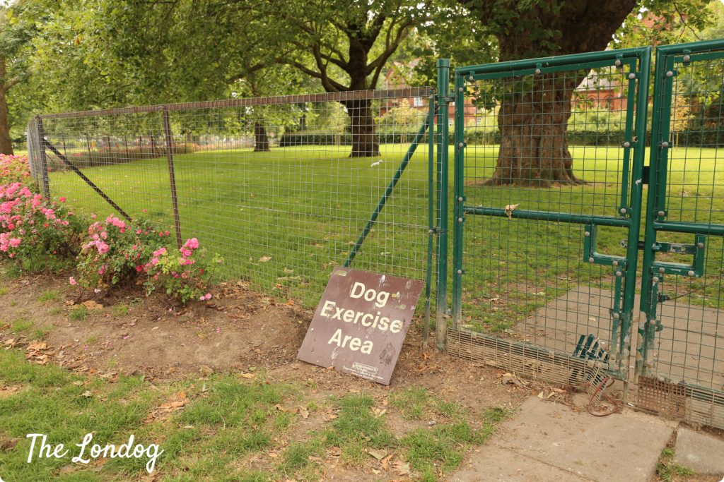 Wendell Park dog area | The Londog