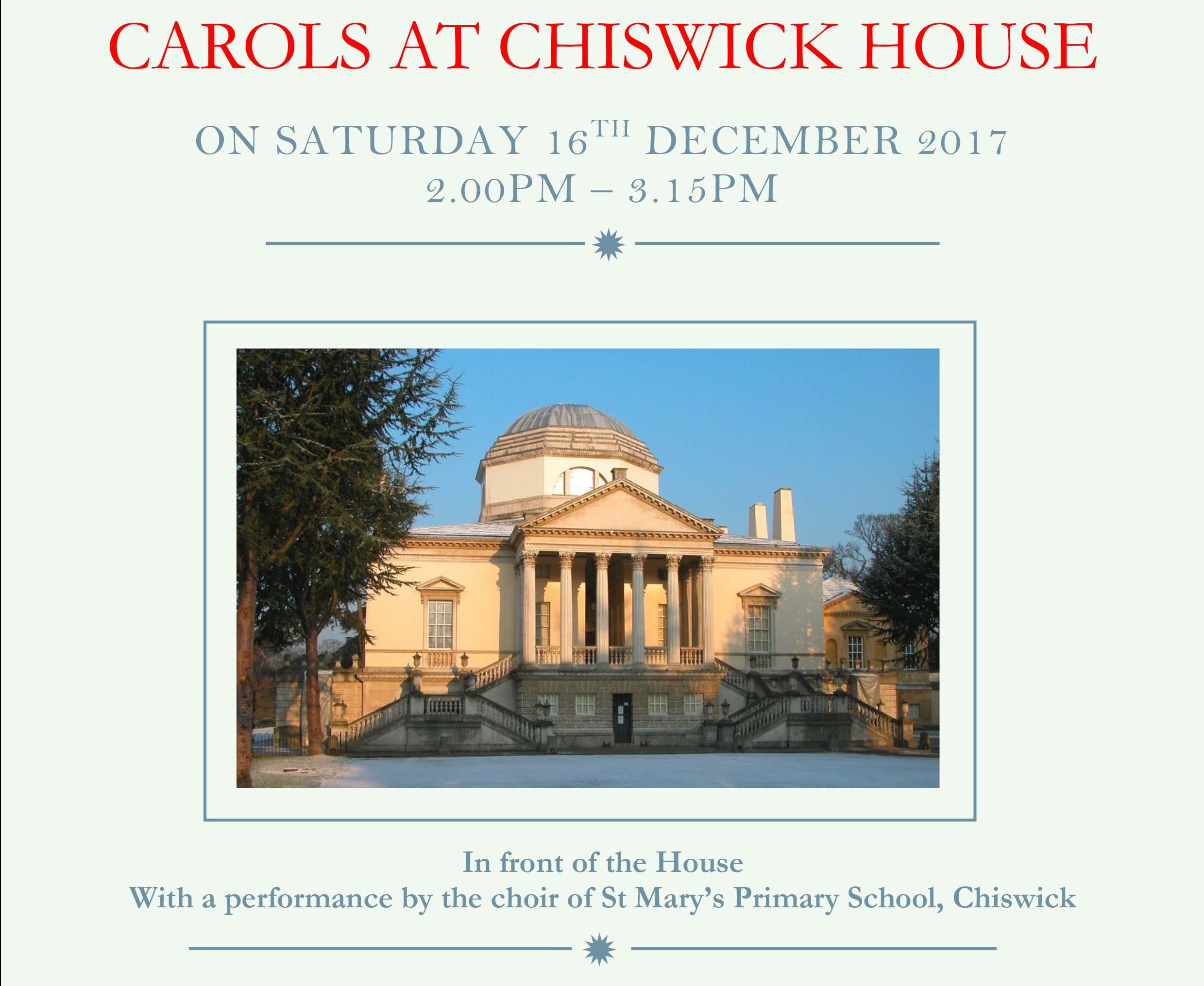 Chiswick House Carols