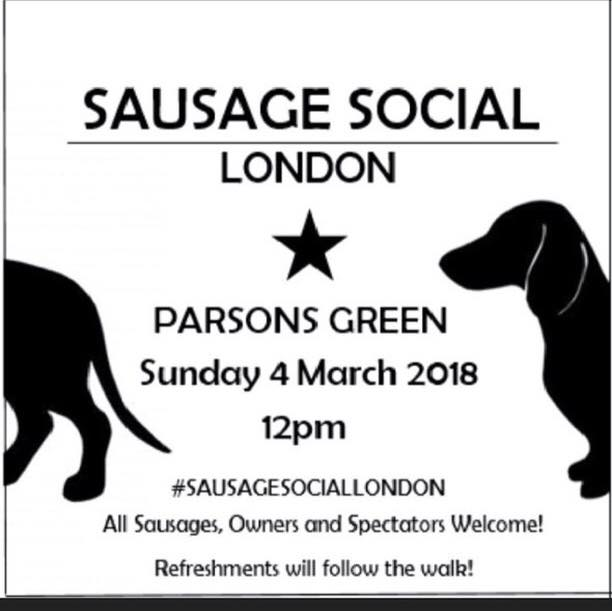 Sausage Social London walk banner