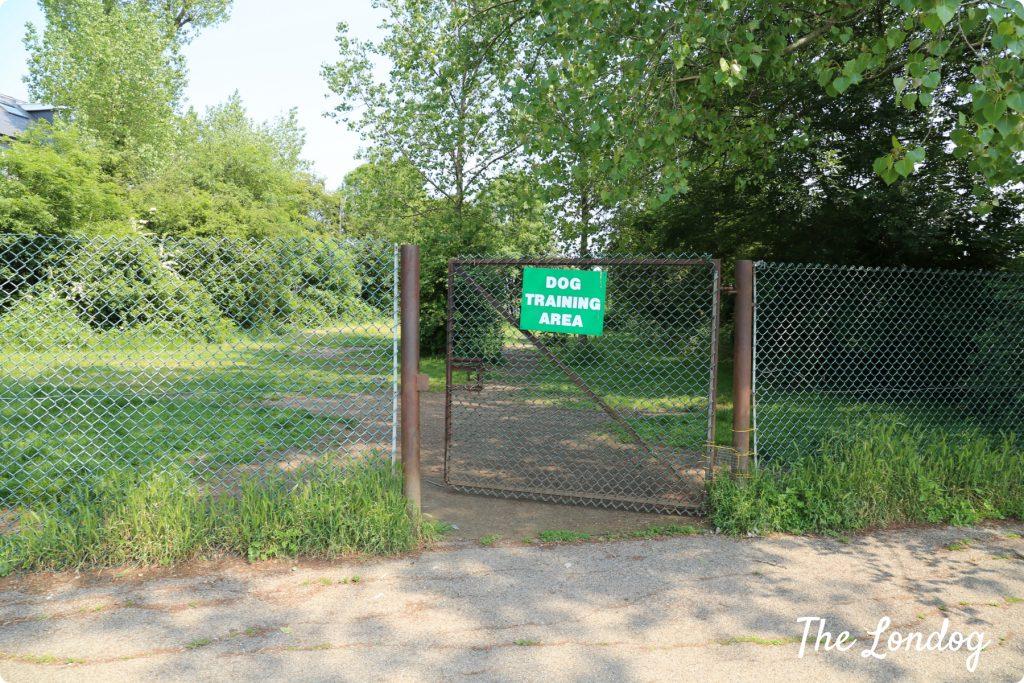 Chase lane dog park entrance