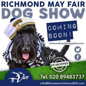 Richmond May Fair Dog Show banner