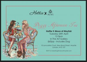 doggy tea afternoon event banner