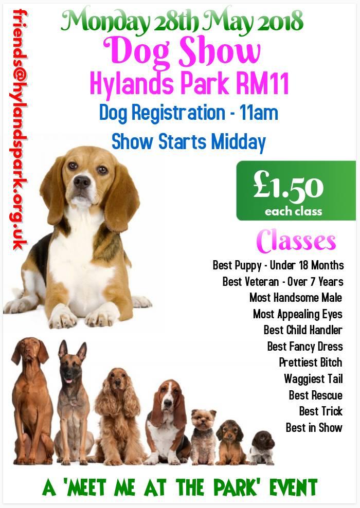 Hylands Park dog show 2018