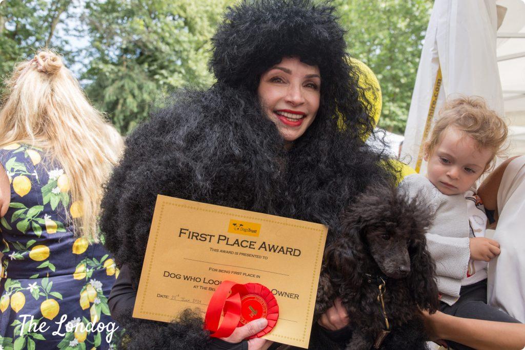 Belgravia Dog Show 2018 dog lookalike winner