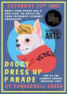 Doggy Dress Up Parade, Camberwell, London