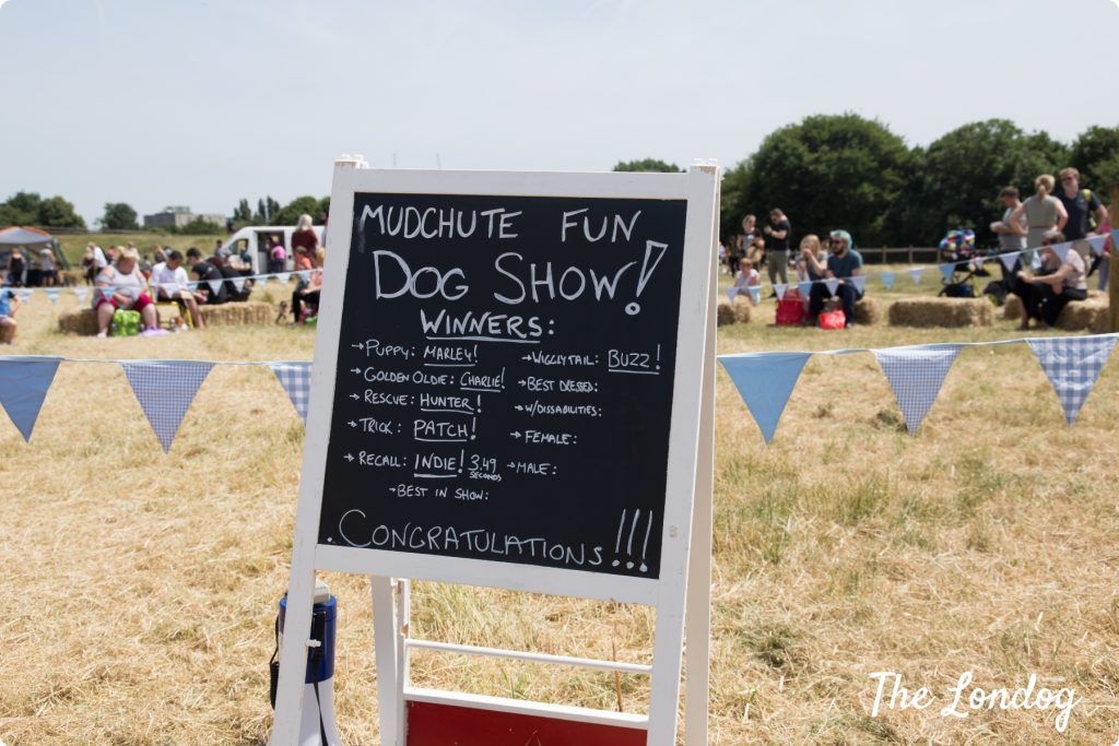 Mudchute Dog Show classes winners