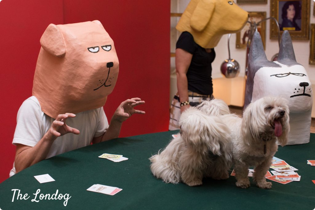 Yolky Games and Jean Jullien Dodgy Dogs launch