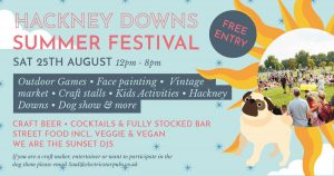 Hackney dog show at Hackney Downs Summer Festival