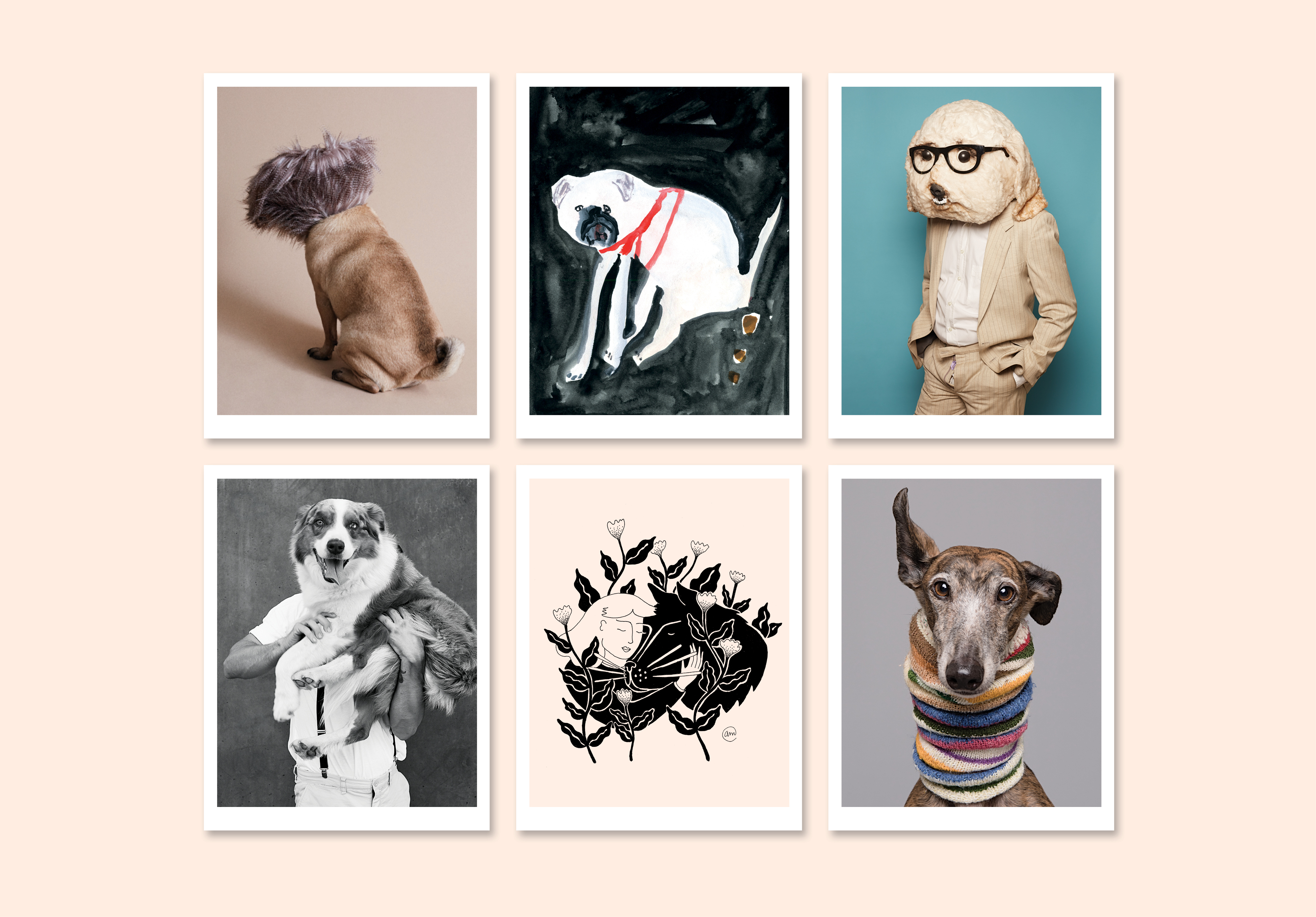 Fetch & Follow Dogs + Design Pop-up concept store poster image