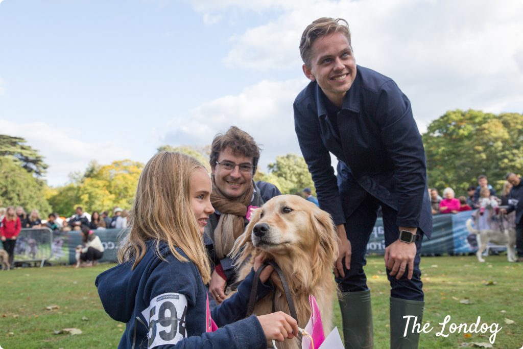 Best in Show Evie the Golden Retriever at Chiswick House Dog Show