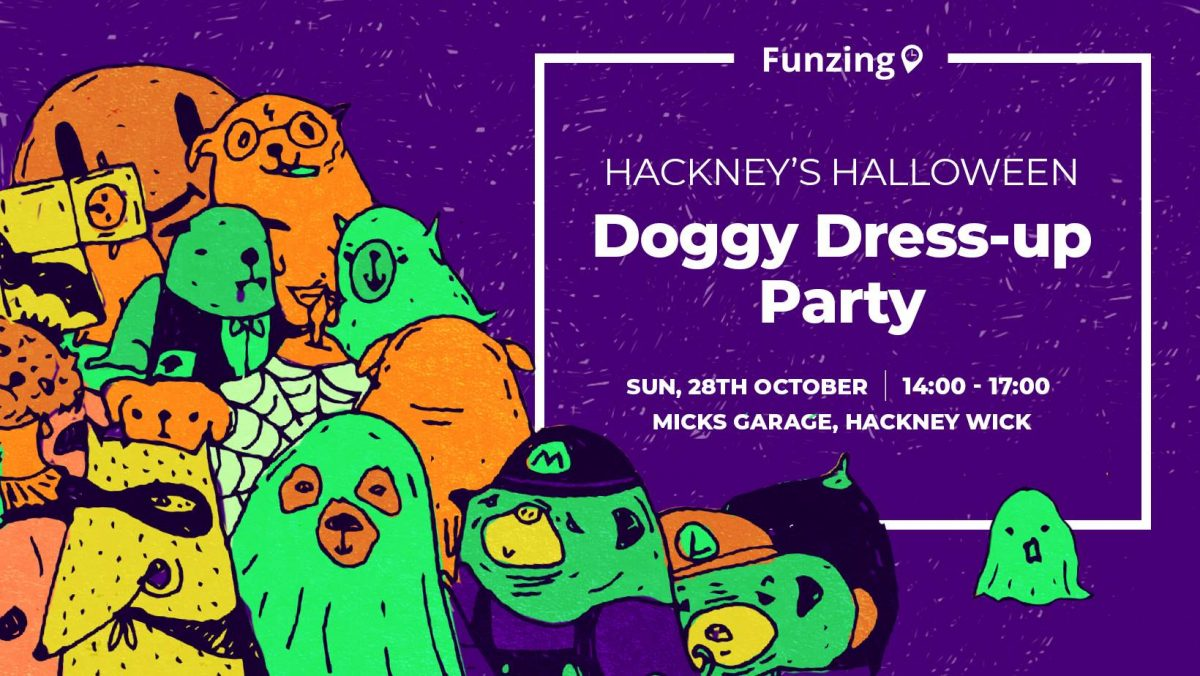 Hackney's Halloween Doggy Dress Up Party