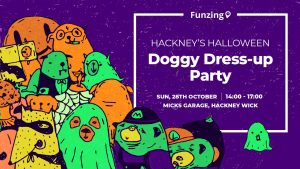 Poster of Hackney's Halloween Doggy Dress-up Party