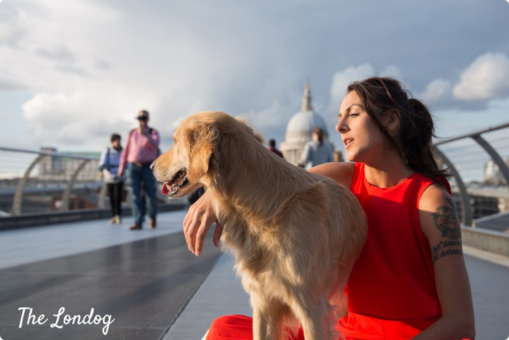 Hugo and Ursula from Phodography posing in London