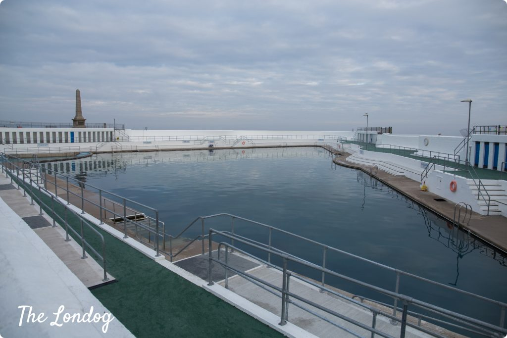 View of Jubilee Pool in Penzance