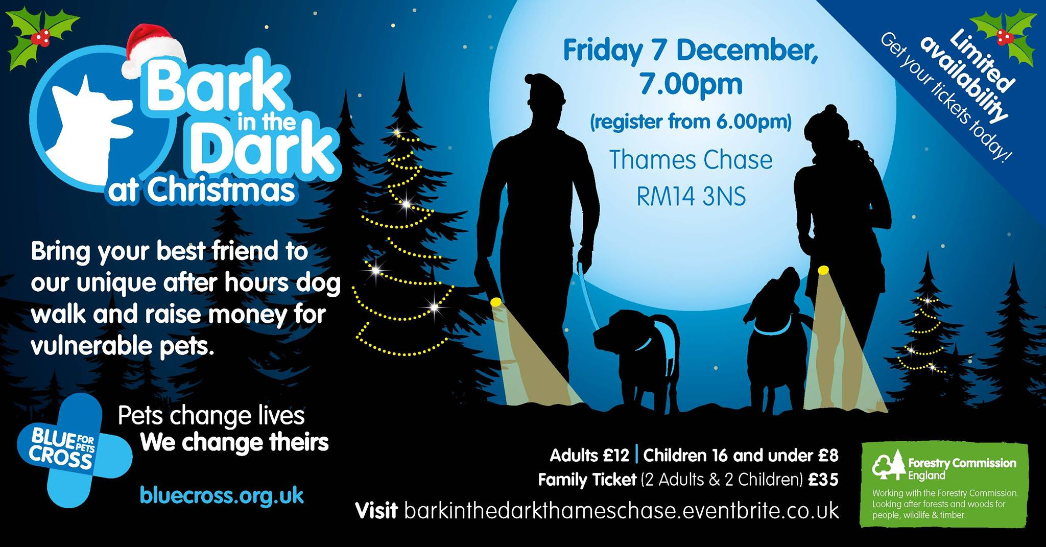 Chase Christmas Eve Hours.Bark In The Dark Thames Chase Christmas Special The Londog