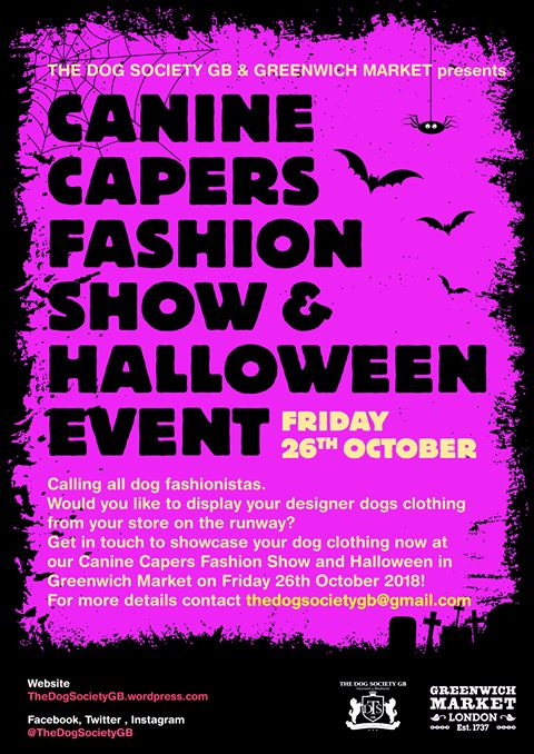 Canine Capers Fashion Show and Halloween Event Fundraiser 2018