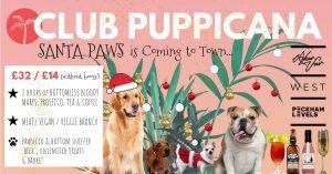 Club Puppicana dog event poster