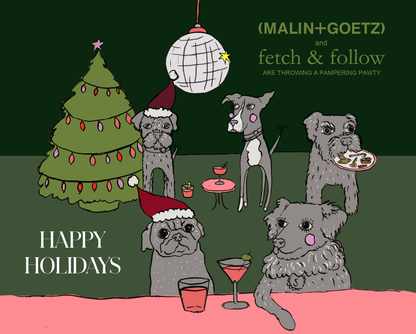 Poster of Fetch and Follow festive Pamper Party