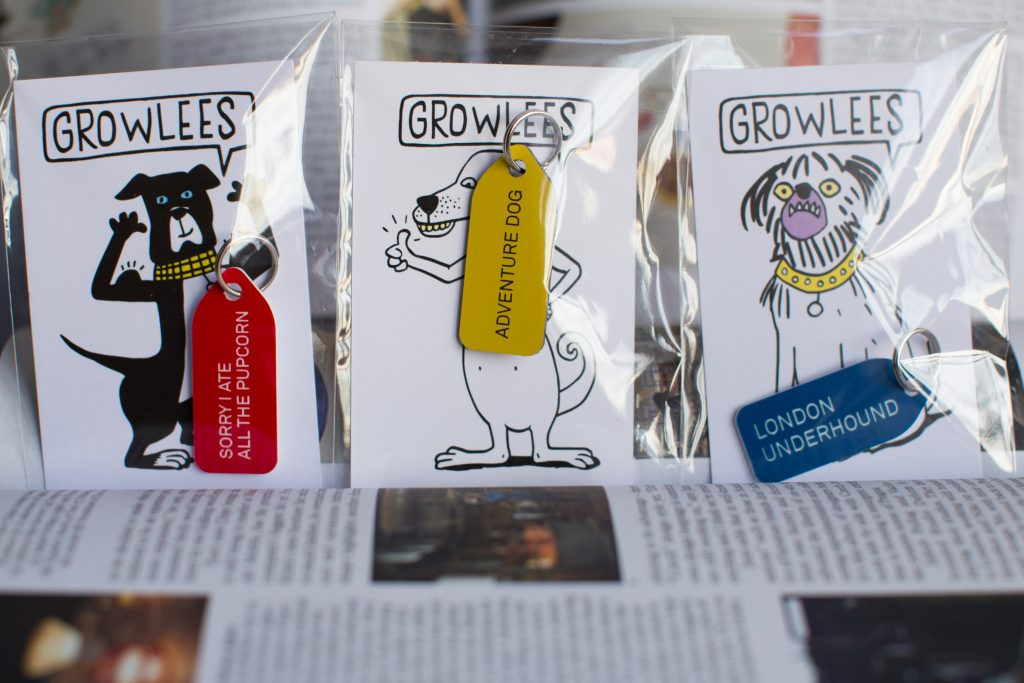 growlees dog tags