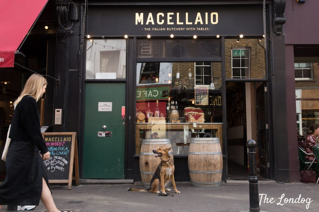 Dog-friendly Italian restaurant
