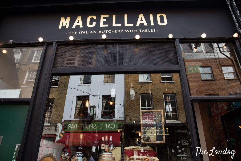 Il Macellaio Tapas bar in Exmouth market