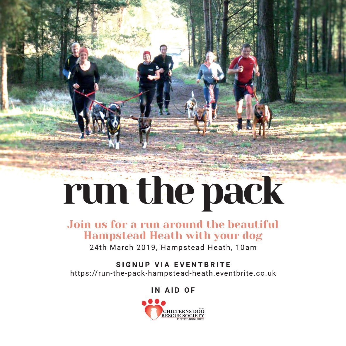 Poster of Run the Pack Hampstead Heath