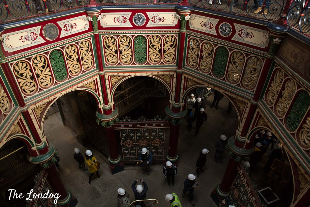 View of the Prince Consort at the Crossness Pumping Station from upstairs