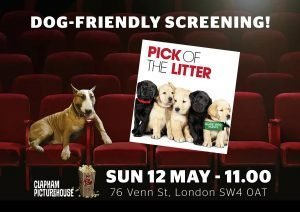 Poster image for Pick of the Litter dog-friendly screening