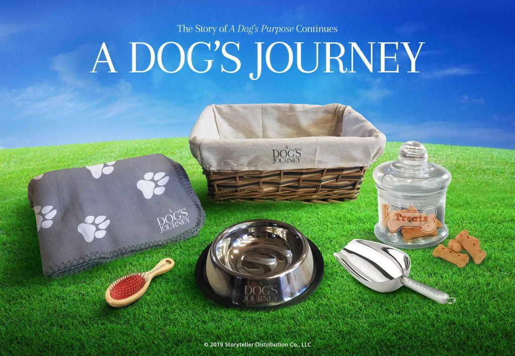 Giveaway pack from A Dog's Journey