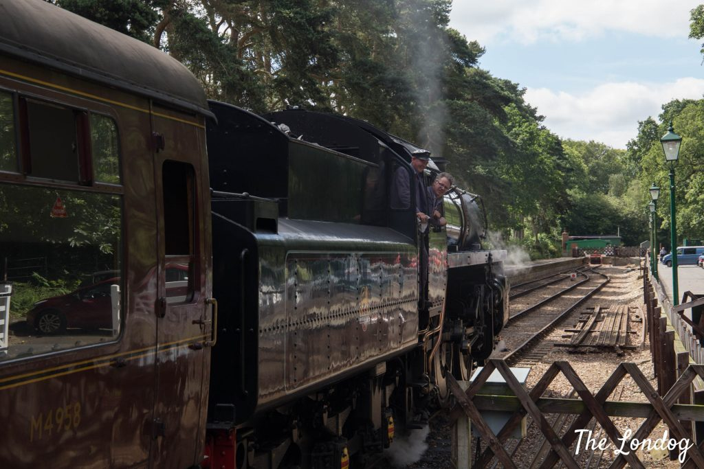 North Norfolk Railway steam train