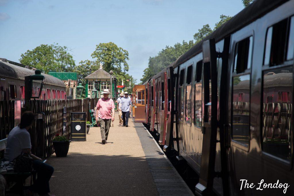 Holt heritage railway station