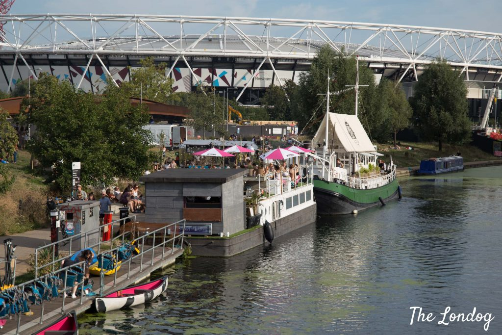 Photo of The Milk Float and Barge East in Hackney Wick