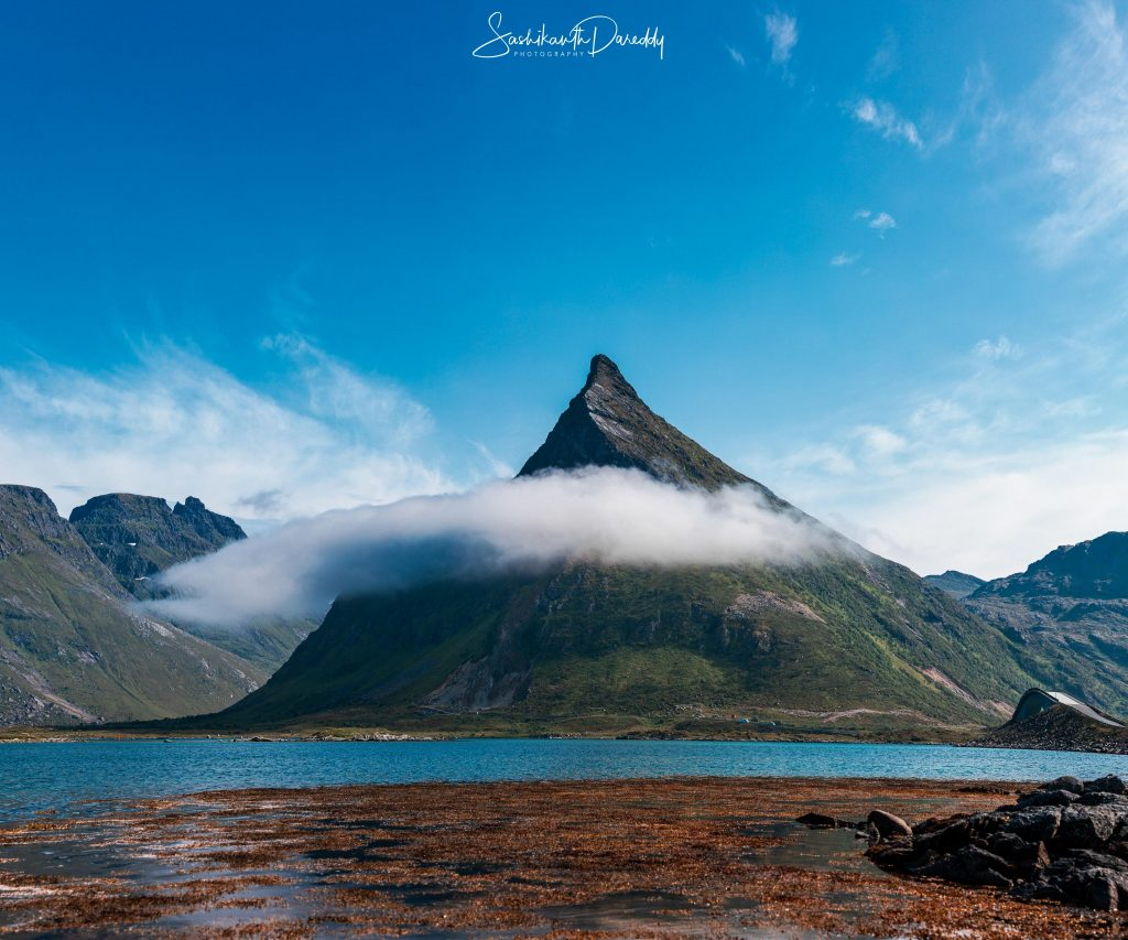 Norway landscape on Lofoten Islands