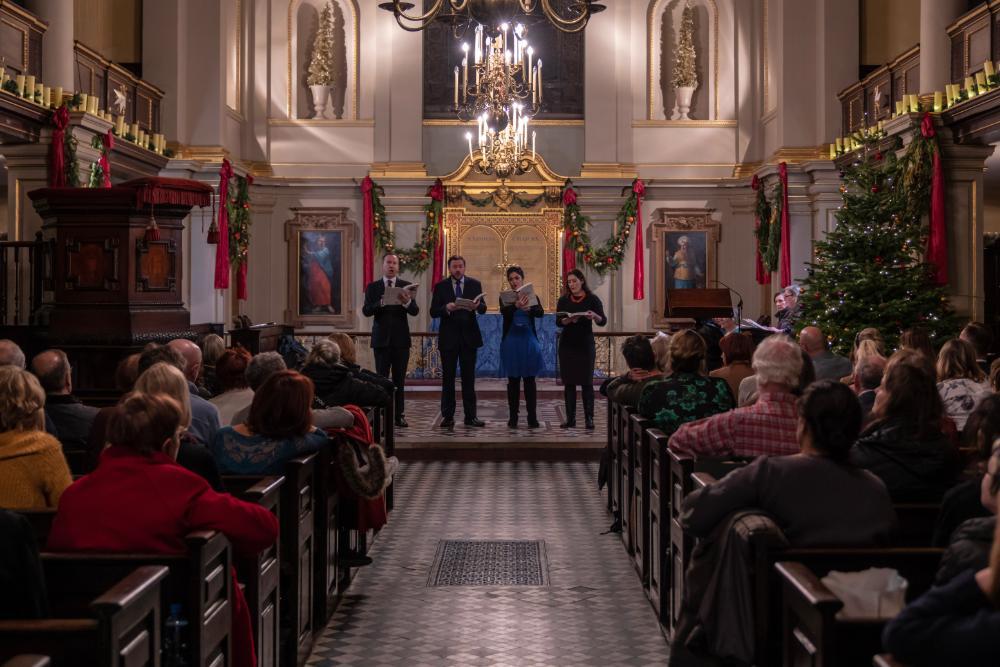Christmas carol concert Mayhew