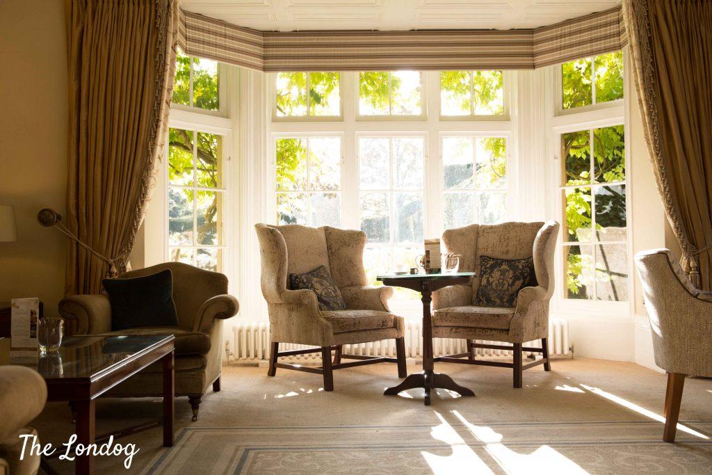 Tea room at Greenway Hotel