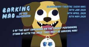Poster of Barking Mad dog-friendly theatre show