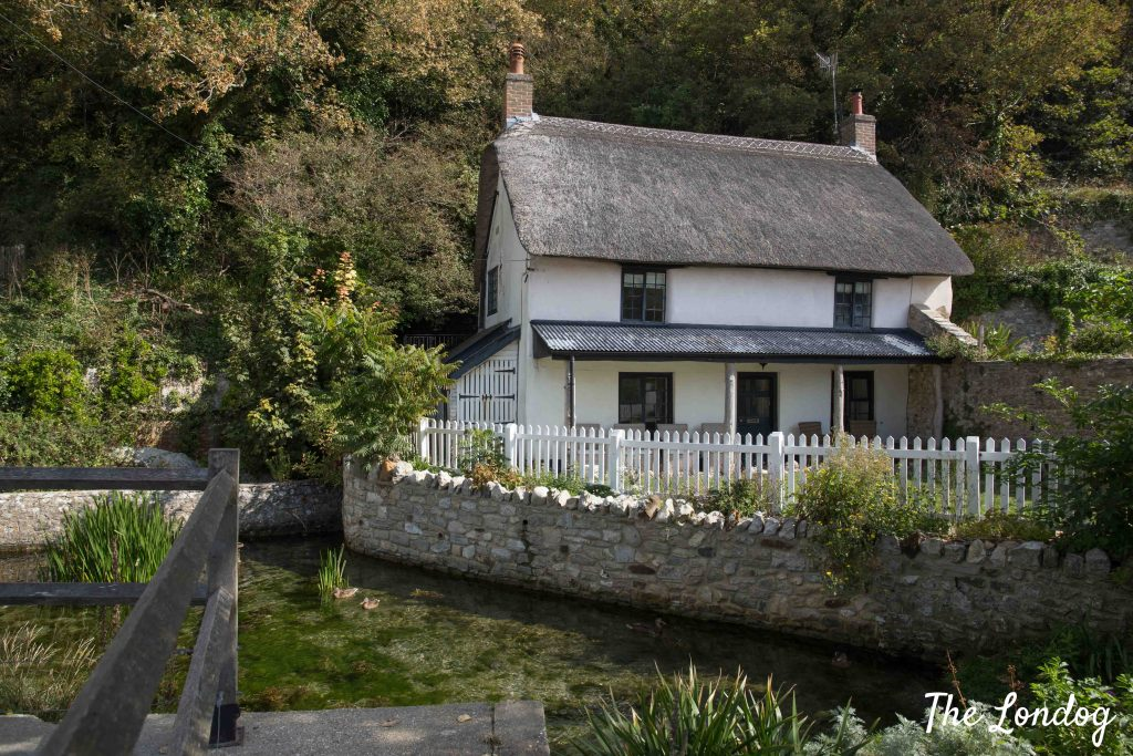 View of dog-friendly Spring Cottage at Lulworth Cove