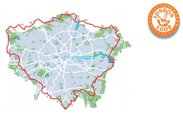 London Loop map