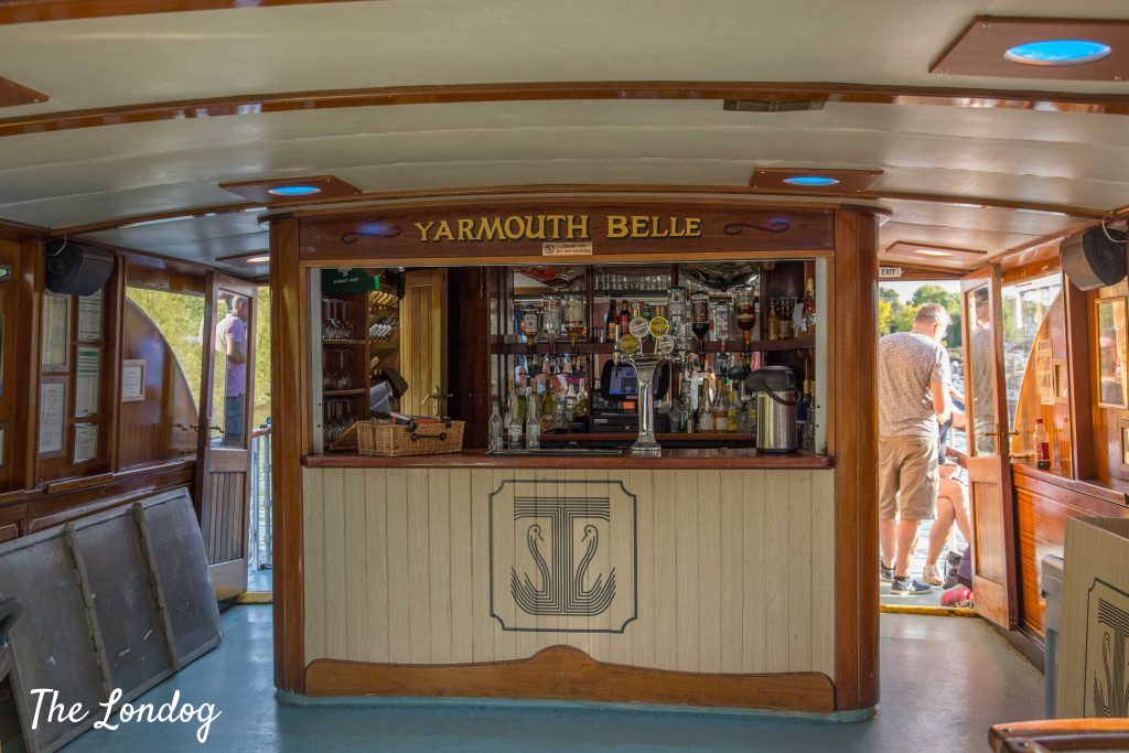 Photo of Turk Launches' Yarmouth Belle bar